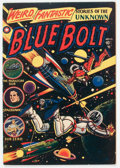 Golden Age (1938-1955):Science Fiction, Blue Bolt #108 (Star Publications, 1951) Condition: FN....