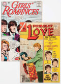 Silver Age (1956-1969):Romance, Silver Age Romance Comics with Beatles Covers and Stories Group of 2 (Various Publishers, 1965-66).... (Total: 2 Comic Books)