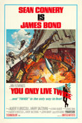 """Movie Posters:James Bond, You Only Live Twice (United Artists, 1967). One Sheet (27"""" X 41"""") Style A.. ..."""
