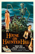"Movie Posters:Horror, House on Haunted Hill (Allied Artists, 1959). One Sheet (27"" X41"").. ..."