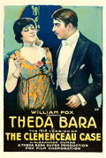 "Movie Posters:Drama, The Clemenceau Case (Fox, R-1918). One Sheet (28"" X 42"").. ..."