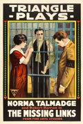 """Movie Posters:Mystery, The Missing Links (Triangle, 1916). One Sheet (28"""" X 41"""").. ..."""
