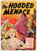 Golden Age (1938-1955):Horror, Hooded Menace #1 (#nn) (Realistic Comics, 1951) Condition:VG/FN....