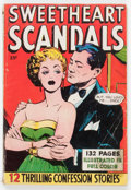 Golden Age (1938-1955):Romance, Fox Giants - Sweetheart Scandals (Fox Features Syndicate, 1950)Condition: VG-....