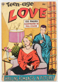 Golden Age (1938-1955):Romance, Fox Giants - Teen Age Love (Fox Features Syndicate, 1950)Condition: VG-....
