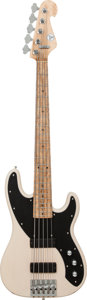 Musical Instruments:Bass Guitars, 2000's Hotwire Vintage 51 Passive Blonde Electric Bass Guitar, Serial # 2178, Weight 8.5 lbs....
