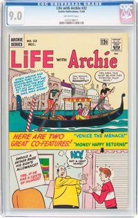 Life With Archie #32 (Archie, 1964) CGC VF/NM 9.0 Off-white pages