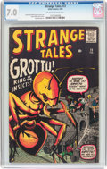 Silver Age (1956-1969):Horror, Strange Tales #73 (Marvel, 1960) CGC FN/VF 7.0 Off-white to whitepages....