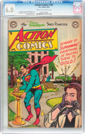 Golden Age (1938-1955):Superhero, Action Comics #193 (DC, 1954) CGC FN 6.0 Cream to off-whitepages....