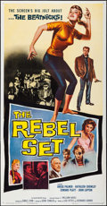 """Movie Posters:Exploitation, The Rebel Set & Others Lot (Allied Artists, 1959). Three Sheets(3) (approx. 41"""" X 79""""), Partial Three Sheet (41"""" X 54""""), & ...(Total: 5 Items)"""