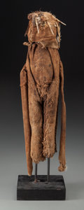 Tribal Art, SENUFO, Ivory Coast. Divination or Fetish Figure... (Total: 2Items)