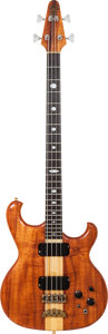 Musical Instruments:Bass Guitars, 1984 Alembic Spoiler Natural Electric Bass Guitar, Serial #8453041, Weight: 9 lbs....