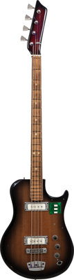 510L Ural 510L Sunburst Electric Bass Guitar, Serial # 64884