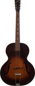 Musical Instruments:Acoustic Guitars, 1945 Vega C26 Sunburst Archtop Acoustic Guitar, Serial # 39409....