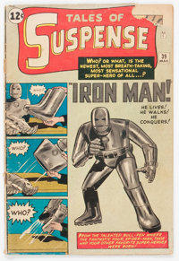 Tales of Suspense #39 (Marvel, 1963) Condition: GD