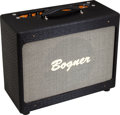 Musical Instruments:Amplifiers, PA, & Effects, 2011 Bogner New Yorker Black Guitar Amplifier, Serial # 111385....