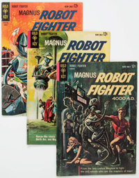 Magnus Robot Fighter #1-11 Group (Gold Key, 1963-65) Condition: Average Apparent GD/VG.... (Total: 11 Comic Books)