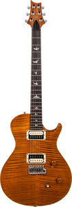 Musical Instruments:Electric Guitars, 2006 Paul Reed Smith (PRS) Amber Solid Body Electric Guitar, Serial # 6 110546, Weight: 8.2 lbs....