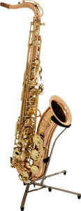Musical Instruments:Horns & Wind Instruments, 2000's Shining TS-300 Brass Tenor Saxophone, Serial # 508010....