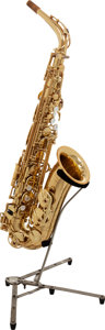 Musical Instruments:Horns & Wind Instruments, 2002 Yamaha YAS-875 Brass Alto Saxophone, Serial # 010972....