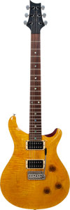 Musical Instruments:Electric Guitars, 1991 Paul Reed Smith (PRS) CE24 Amber Solid Body Electric Guitar,Serial # 174832, Weight: 7.6 lbs....