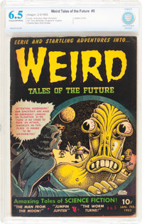 Weird Tales of the Future #5 (Aragon, 1953) CBCS FN+ 6.5 Cream to off-white pages