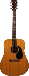 Musical Instruments:Acoustic Guitars, 1973 Martin D-18 Natural Acoustic Guitar, Serial # 323555....