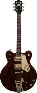 Musical Instruments:Electric Guitars, 1967 Gretsch Country Gentleman Walnut Semi-Hollow Body Electric Guitar, Serial # 3791, Weight: 7.7 lbs....