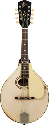 1920 Gibson A-3 White Mandolin, Serial # 61337