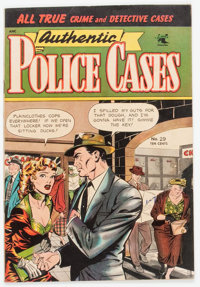 Authentic Police Cases #29 (St. John, 1953) Condition: FN+