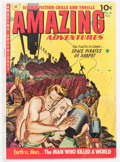 Golden Age (1938-1955):Science Fiction, Amazing Adventures #6 (Ziff-Davis, 1952) Condition: VG....