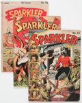 Golden Age (1938-1955):Miscellaneous, Sparkler Comics Group of 4 (United Features Syndicate, 1942-47) Condition: GD+.... (Total: 4 Comic Books)