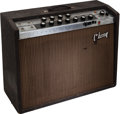 Musical Instruments:Amplifiers, PA, & Effects, 1964 Gibson GA-30 RVT Invader Brown Guitar Amplifier, Serial # 721133....