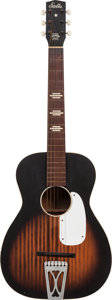 Musical Instruments:Acoustic Guitars, 1940's Harmony Stella Sunburst Acoustic Guitar....