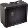 Musical Instruments:Amplifiers, PA, & Effects, Circa 1973 Mike Matthews Freedom Amp Black Guitar Amplifier....