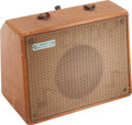 Musical Instruments:Amplifiers, PA, & Effects, Circa 1959 Magnatone Starlet Tan Guitar Amplifier....
