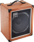 Musical Instruments:Amplifiers, PA, & Effects, Circa 1979 Roland CB60 Orange Guitar Amplifier, Serial # 45319....