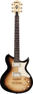 Musical Instruments:Electric Guitars, 2002 Washburn Sunburst Solid Body Electric Guitar, Serial #N02050705, Weight: 7.4 lbs....