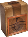 Musical Instruments:Amplifiers, PA, & Effects, 1949 Silvertone Model 1300 Tweed Guitar Amplifier, Serial #503374....
