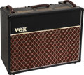 Musical Instruments:Amplifiers, PA, & Effects, 1991 Vox 30th Anniversary AC30 Black Guitar Amplifier, Serial #0865....