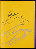 Basketball Collectibles:Publications, Kobe, Shaq and Phil Jackson Multi-Signed Hardcover Book. ...