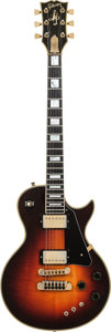 Musical Instruments:Electric Guitars, 1980 Gibson Les Paul Artist Sunburst Solid Body Electric Guitar,Serial # 81350546, Weight: 9.6 lbs. ...