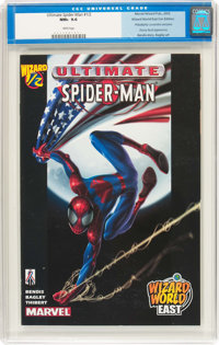Ultimate Spider-Man #1/2 Wizard World East Con Edition (Marvel, 2002) CGC NM+ 9.6 White pages