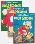 Silver Age (1956-1969):Cartoon Character, Uncle Scrooge Group of 12 (Dell, 1956-61) Condition: Average VG.... (Total: 12 Comic Books)