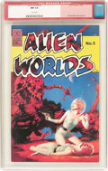 Modern Age (1980-Present):Science Fiction, Alien Worlds #5 (Pacific Comics/Eclipse, 1983) CGC NM 9.4 Whitepages....