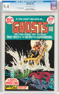 Bronze Age (1970-1979):Horror, Ghosts #19 (DC, 1973) CGC NM 9.4 Off-white to white pages....