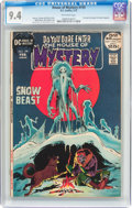 Bronze Age (1970-1979):Horror, House of Mystery #199 (DC, 1972) CGC NM 9.4 Off-white pages....
