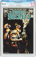 Bronze Age (1970-1979):Horror, House of Secrets #103 (DC, 1972) CGC NM 9.4 Off-white to whitepages....