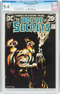 House of Secrets #103 (DC, 1972) CGC NM 9.4 Off-white to white pages