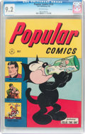 Golden Age (1938-1955):Miscellaneous, Popular Comics #123 File Copy (Dell, 1946) CGC NM- 9.2 Off-white pages....